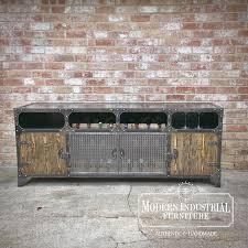 wine rack cabinet modern industrial credenza coffee bar