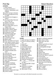 easy printable crossword puzzles for adults crossword puzzle