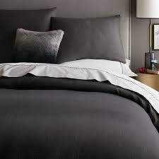 How To Change A Duvet Cover Modern Duvet Covers West Elm