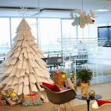 Simple Office Christmas Decorations - how to decorate the office for the new year 80 simple and elegant