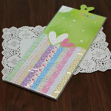 wishing paper 500pcs origami paper print lucky paper creative set origins