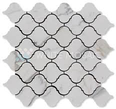 bathroom backsplash tiles white mosaic