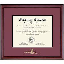 fsu diploma frame fairmont state 8 5 x 11 classic diploma frame