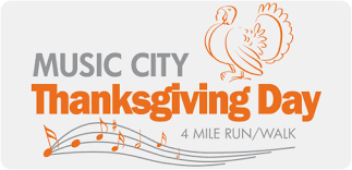 2017 city thanksgiving day 4 mile run walk nashville tn