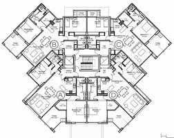 resort hotel floor plan architecture apartment plans building drawing architecture cad