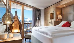 Hotel Room Interior - chandolin boutique hotel chandolin switzerland design hotels