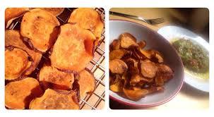 cuisiner patate recette chips patate douce guacamole maison minceur cuisiner light