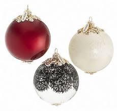 jason wu neiman collection glass ornament set of 3