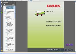 claas bigtic manuals set repair manual heavy technics repair