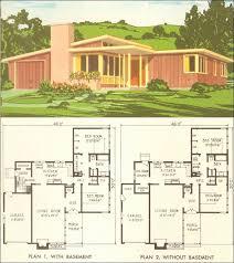 modern home blueprints mid century modern home designs mid century modern floor plans