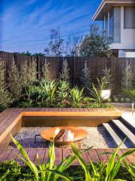 Gravel Fire Pit Area - fire pit houzz