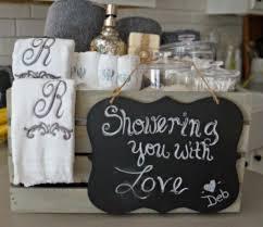 Bridal Shower Gift Baskets Bathroom Grey Washed Wood Crate Bridal Shower Gift Seeking