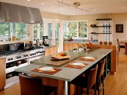 Kitchen Island With Seating For 6 Resplendent Kitchen Island Seating On Both Sides With Stainless