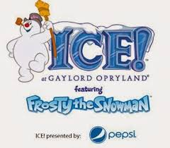 ice frosty snowman gaylord opryland small