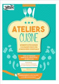 affiche atelier cuisine atelier cuisine marocaine sortir à créon