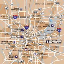 dayton map dayton international airport airport maps maps and directions to