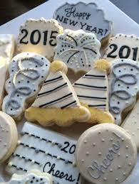 New Year Decorated Cookies by New Year U0027s Eve Cookies I Cannot Believe We Would Be Piping 2013