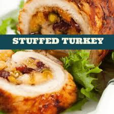 the chew chef mario batali s stuffed turkey with mushrooms recipe