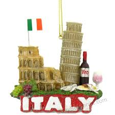 italian blessing ceramic ornament italian
