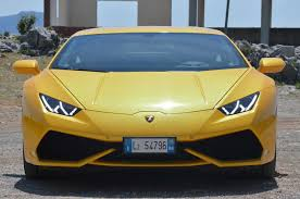 lamborghini huracan front the lamborghini huracan gives its costlier sibling the lamborghini