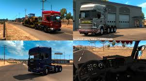 truck pack v1 5 american truck simulator mods ats mods scania 4 v2 2 1 trucks for ats euro truck simulator 2 mods