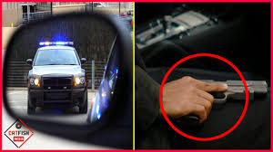 Ever Wondered Why Cops Touch Your Tail Light When They Pull You Over