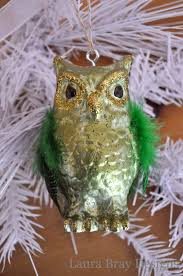diy faux glass owl ornaments smoothfoam