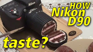 how does nikon d90 taste camera cake youtube