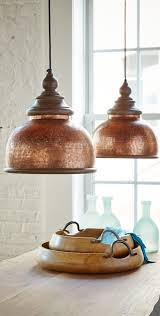 Copper Light Pendants Best 25 Copper Pendant Lights Ideas On Pinterest From Kitchen