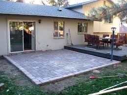 Cost Of A Paver Patio Paver Installation Cost Outdoor Patio Paver Ideas Best Pavers