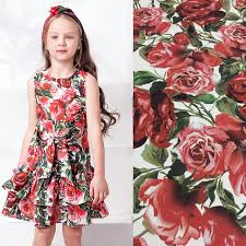 aliexpress com buy flowers printed fabric linen cotton fabric