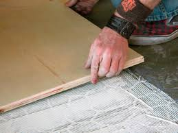How To Install Laminate Flooring Over Plywood How To Install Plywood Floor Tiles Hgtv