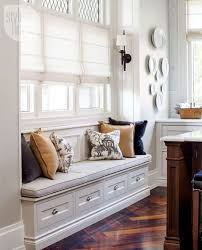 window seat kitchen transitional living room style at home