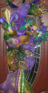 mardi gras mesh mardi gras poly deco mesh teardrop swag wreath gorgeous ribbon