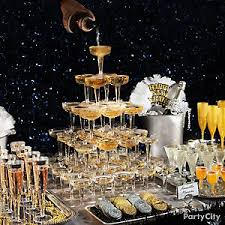 New Year S Eve Dinner Party Decorations by Elegant New Year U0027s Eve Party Ideas Party City