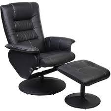 Chair W Ottoman Duncan Reclining Chair W Ottoman Black The Brick