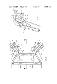 patent us4920734 drive control for walk behind mower with