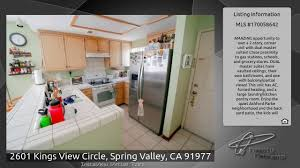 dual master suites 2601 kings view circle spring valley ca 91977 youtube