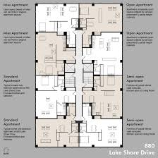 house plans apartment complex