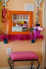 Little Girls Play Vanity Little Vanity Stool Home Vanity Decoration