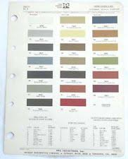 paint chip book ebay