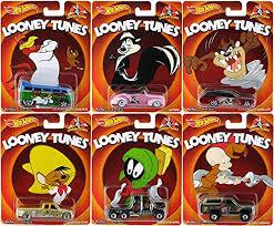 looney tunes amazon com wheels looney tunes 6 car set 2014 pop culture taz