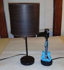 lot of 2 lamps luminare table lamp u0026 zest garden limited guitar