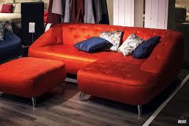 yellow dinamis modern leather loveseat sleeper sofa square pillow