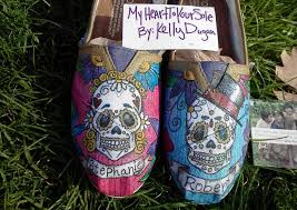 Wedding Shoes Toms Day Of The Dead Toms Wedding Shoes