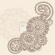 henna abstract doodle mehndi tattoo vector design henna wall mural