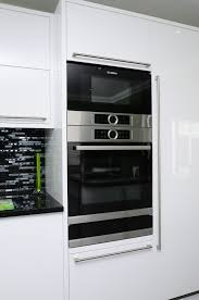 Kitchen Oven Cabinets by Bosch Serie 8 Pyrolytic Oven And Microwave Oven In Brushed Steel