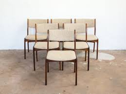 6 Black Dining Chairs 6 Chairs In Rosewood By Skovby Vintage Furniture