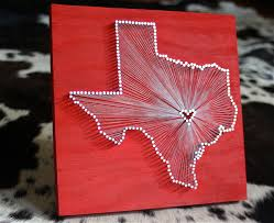 two state string art etsy diy state string art crafthubs yarn