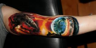half sleeve tattoo solar system page 2 pics about space
